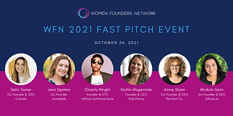 Women Founders Network 2021 Fast Pitch Virtual Event tickets