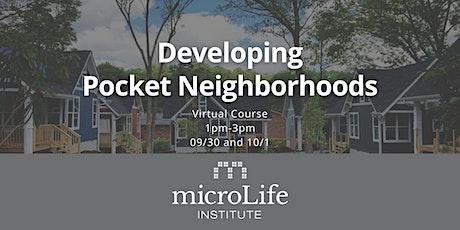 Developing Pocket Neighborhoods: Virtual Course tickets