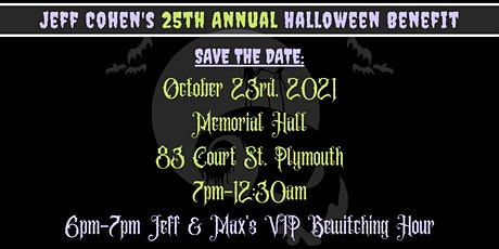 Jeff Cohen's 25th Annual Halloween Benefit tickets