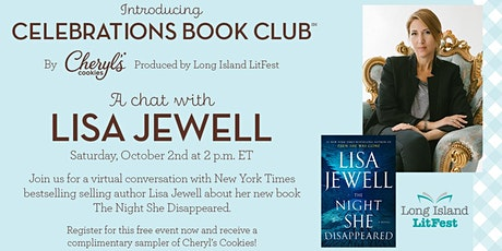 Celebrations Book Club: A Chat with Lisa Jewell tickets