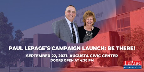 Paul LePage's Campaign Launch tickets