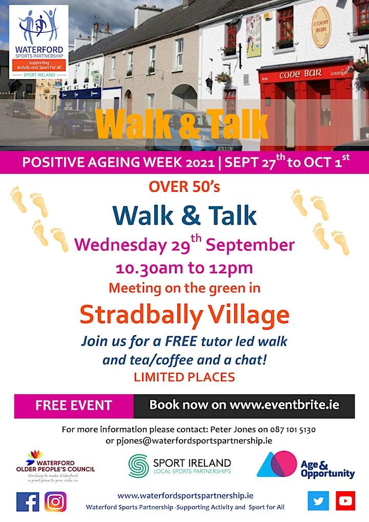 Positive Ageing Week -  Walk & Talk Stradbally image