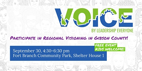 VOICE Session at Fort Branch Community Park, Shelter House 1 tickets