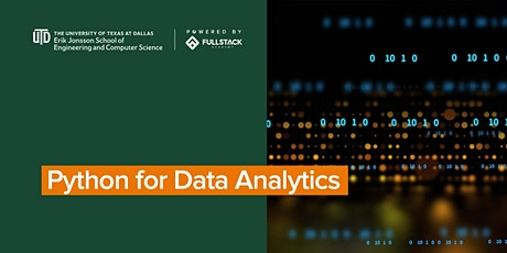 Python for Data Analytics at UT Dallas Tech Boocamps tickets