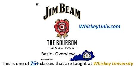Jim Beam Brands {Basic} Tasting Class (Course #301) tickets
