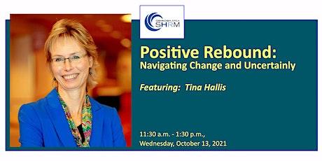 October 2021Oshkosh Area SHRM Chapter Meeting: Positive Rebound tickets