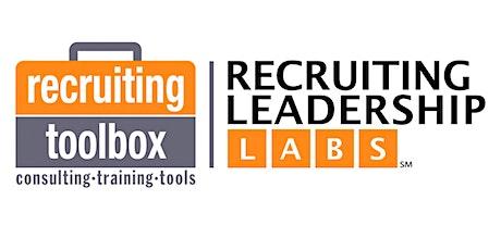 2022 Recruiting Leadership Lab 1 - New York City, NY tickets