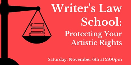 Writer's Law School: Protecting Your Artistic Rights tickets
