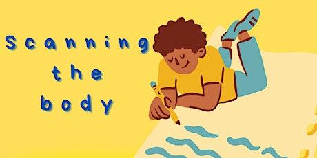 'Scanning the Body' Digital Free-Writing workshop tickets