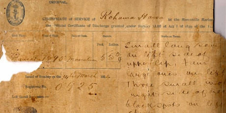 Bengali Seafarers in the Archives and Beyond tickets