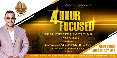 Real Estate Investing 101 - Live Training - New York tickets
