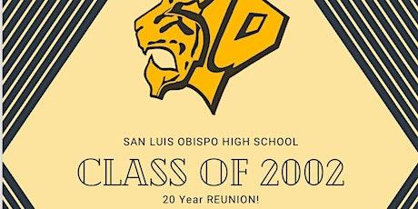 San Luis Obispo High School Class of 2002 Reunion tickets