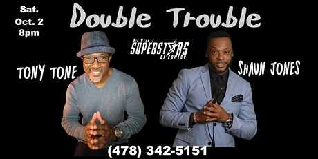 Double Trouble - Two Headlining Comedians tickets