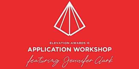 Elevation Awards Application Workshop tickets
