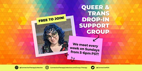Queer & Trans Drop In Group tickets