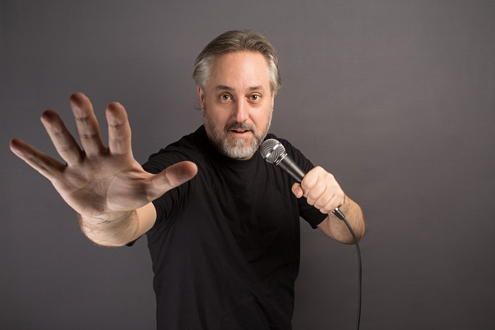 Live Stand Up Comedy at The Peacock Wine Bar image