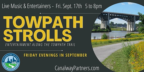 Towpath Stroll - Live Music & Entertainment Along the Towpath Trail  in CLE tickets