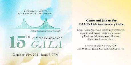 ISAAC 15th Anniversary Gala tickets