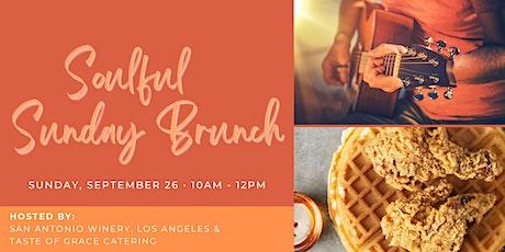 Soulful Sunday Brunch @ San Antonio Winery, Los Angeles tickets
