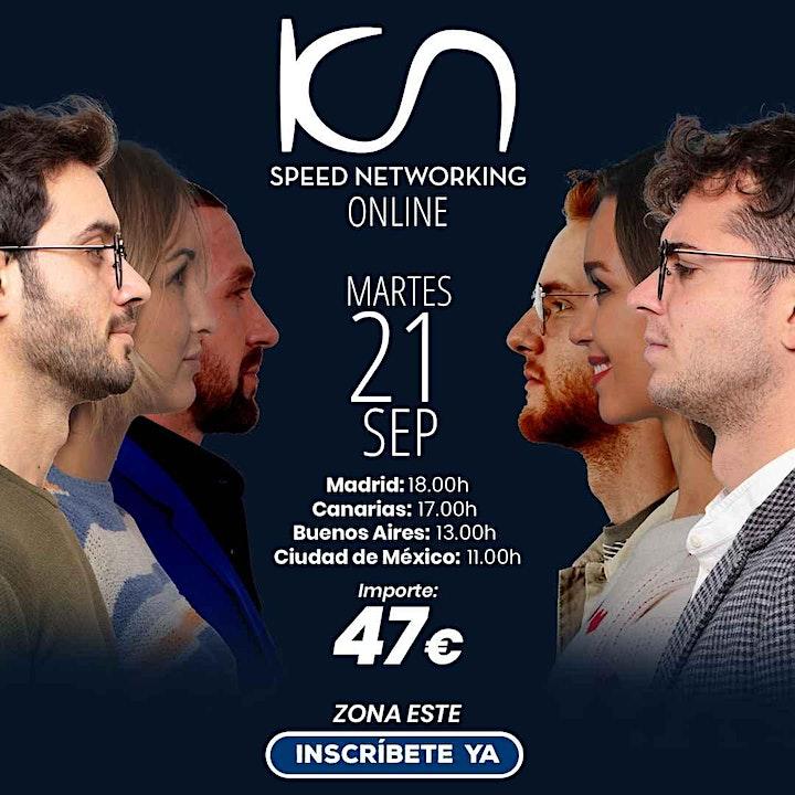 Imagen de KCN Speed Networking Online Zona Este 21 SEP