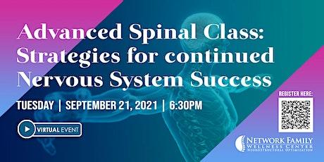 Strategies for Continued Nervous System Success  [VIRTUAL] biglietti