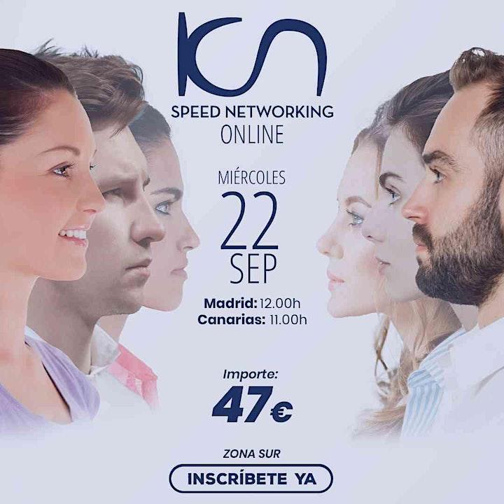 Imagen de KCN Speed Networking Online Zona Sur 22 SEP