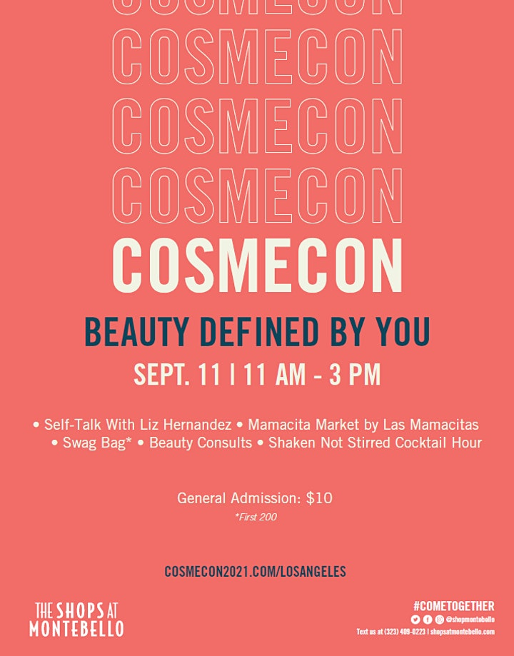 CosmeCon 2021 - Beauty Defined By YOU image