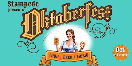 Oktoberfest at Stampede tickets