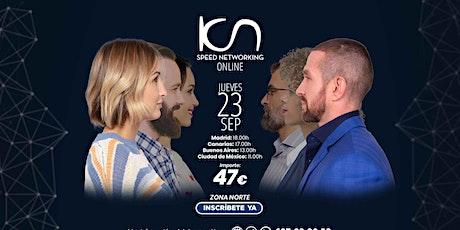 KCN Speed Networking Online Zona Norte 23 SEP entradas
