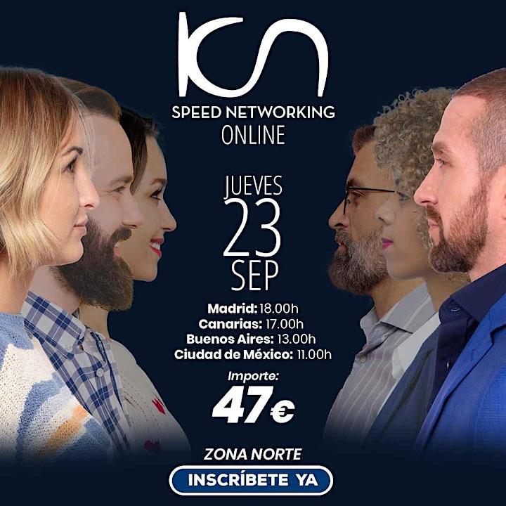 Imagen de KCN Speed Networking Online Zona Norte 23 SEP