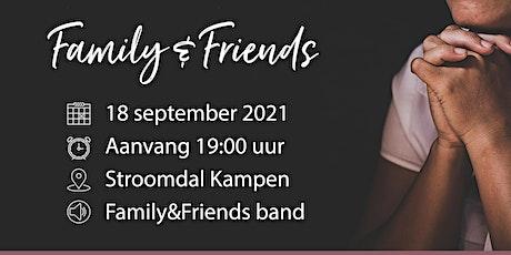 F&F Avond - 18 september 2021 tickets