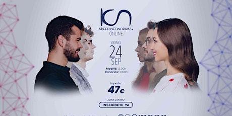 KCN Speed Networking Online Zona Centro 24 SEP entradas