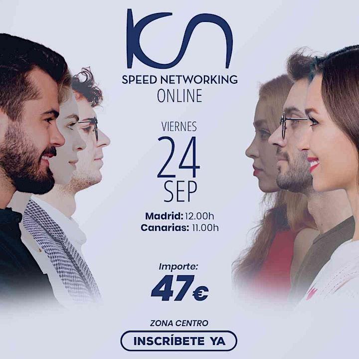 Imagen de KCN Speed Networking Online Zona Centro 24 SEP