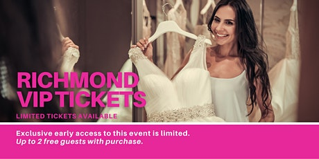 Richmond Pop Up Wedding Dress Sale VIP Early Access tickets