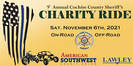 Cochise County Sheriff's Charity Ride 2021 tickets