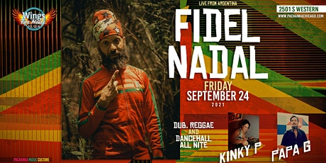 POSTPONED – FIDEL NADAL – live reggae party + Papa G + Kinky P tickets