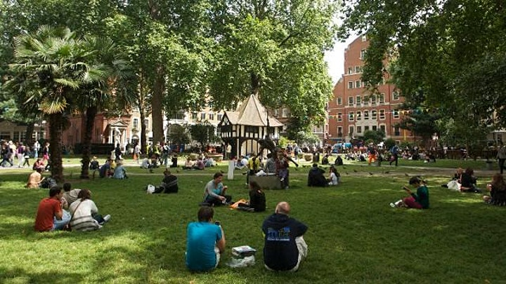Soho London's Most Famous Neighbourhood Amnesty Fundraiser image