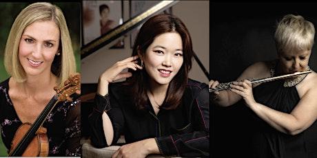 Kim McCollum (violin), Melinda Wade-English (flute), & Woobin Park (piano) tickets