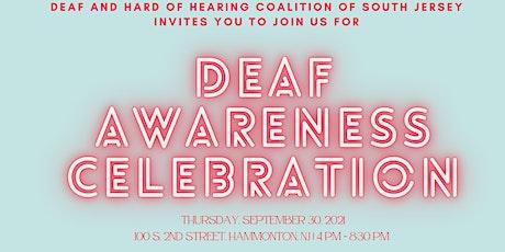 Deaf Awareness Celebration tickets