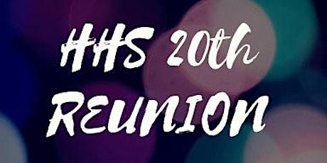 HHS Class of 2000/2001 - Twenty Year Reunion tickets