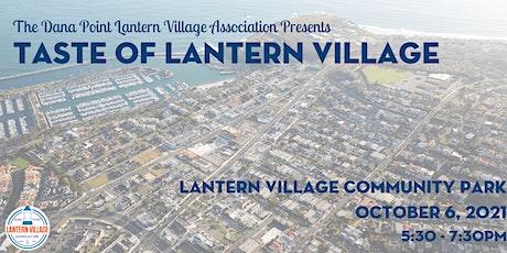 Taste of Lantern Village 2021 tickets