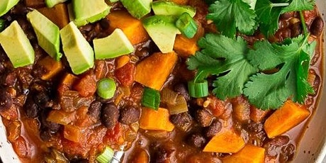 UBS - Virtual Cooking Class: Plant Based Bean Chili tickets
