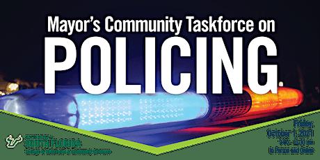 Tampa Mayor's Community Taskforce on  Policing tickets
