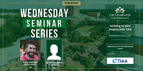 SDS Wednesday Seminar: SOARing to New Heights with TIAA tickets