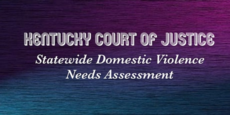 KY AOC Domestic Violence Regional Community Forum tickets