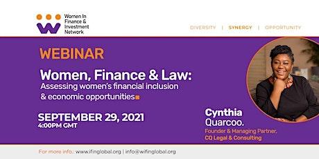 Women, Business & Law Webinar tickets