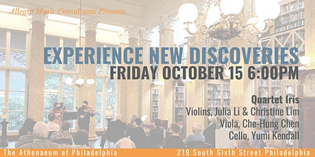 Allegro Presents: Experience New Discoveries Chamber Music Concert tickets