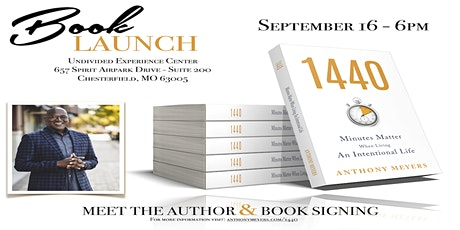 Book Launch - 1440 Minutes matter When Living An Intentional Life tickets