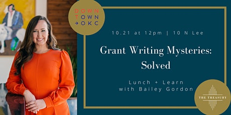 Grant Writing Mysteries: Solved tickets