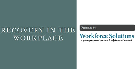 Recovery in the Workplace tickets